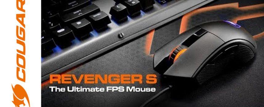 Test Cougar Gaming Revenger S – Souris droitier | PC