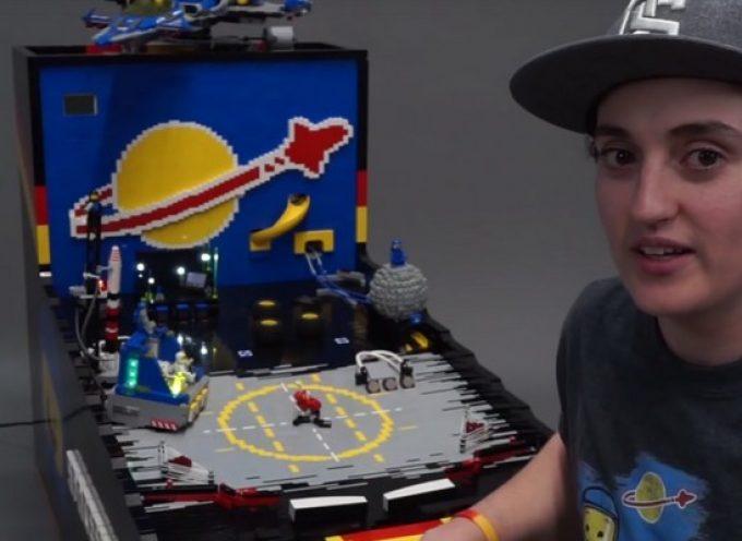 Benny's Spaceship Adventure, un flipper tout en Lego