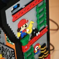 Borne arcade Donkey Kong en LEGO - Mario