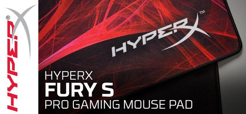 Test HyperX FURY S Edition Speed – Tapis de souris gamer