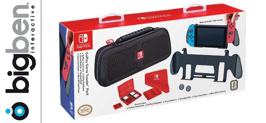 Test BIGBEN NNS90 – Pack de transport «housse + grip» Nintendo Switch
