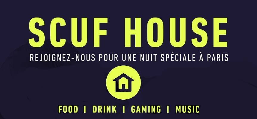 Inauguration de la SCUF House à Paris