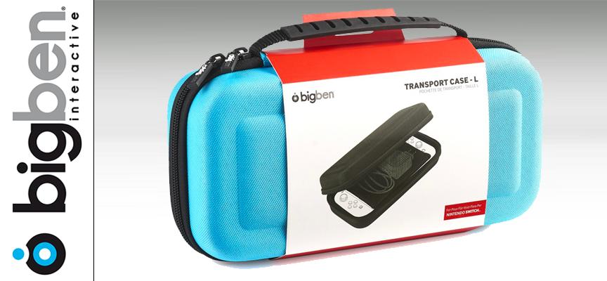 Test Bigben Transport Case-L – Sacoche transport  Switch