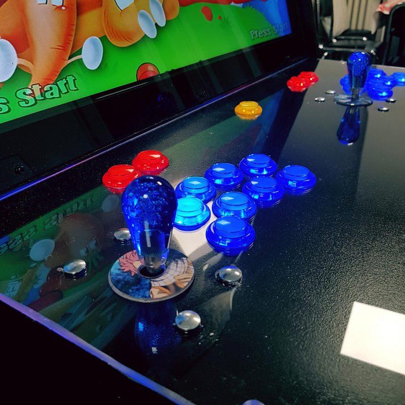 borne arcade DIY Fairy Tail - Natsu