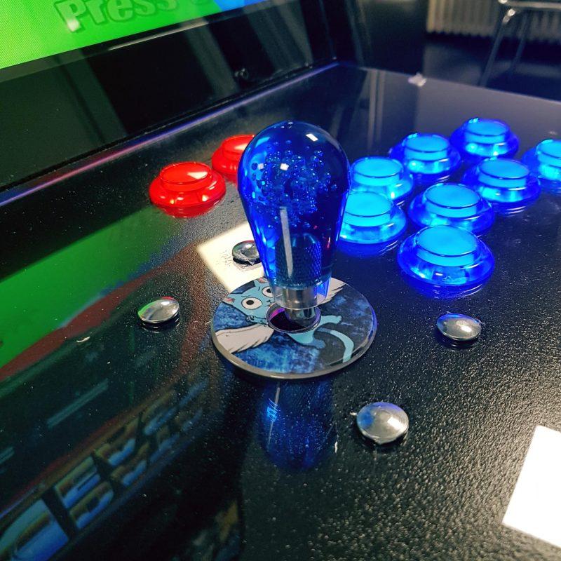 borne arcade DIY Fairy Tail - Happy