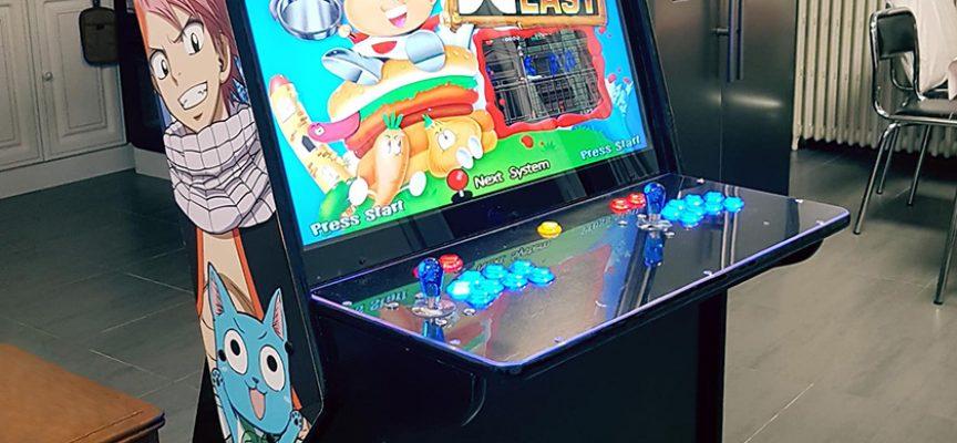 Borne arcade DIY Fairy Tail