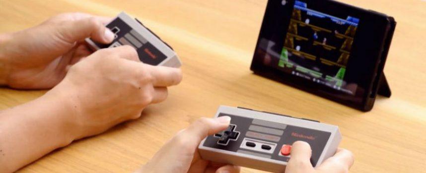 De nouvelles manettes Switch NES pour les jeux Nintendo Entertainment System Online