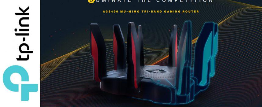 Test routeur gaming TP-Link Acher AC5400X