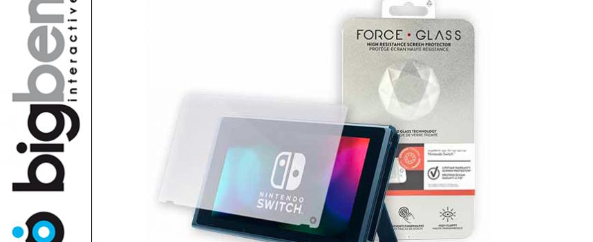 Test Big Ben Force Glass – Protection écran Switch