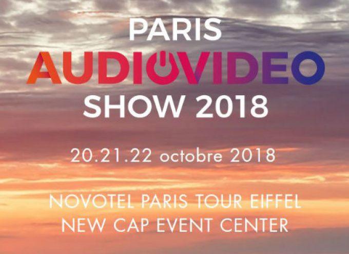 Rendez-vous au salon Paris Audio Video Show 2018