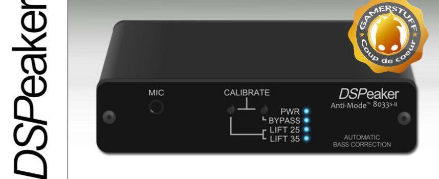 Test DSPeaker Anti-mode 8033S-II | boîtier DSP subwoofer Homecinema