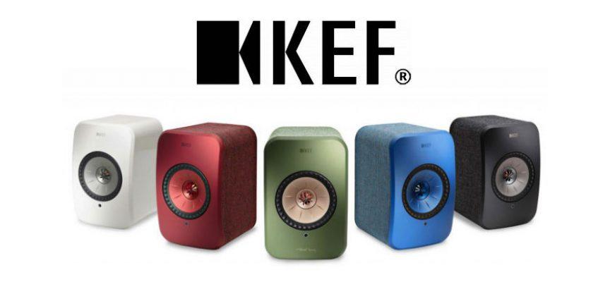 Enceintes stéréo sans fil KEF LSX