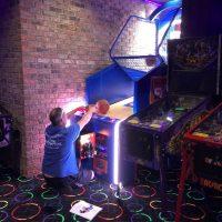 man cave flynn's arcade 2.0 - flipper