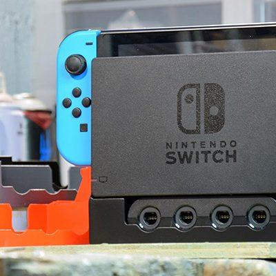 Un dock Nintendo Switch intégrant des ports manettes Gamecube