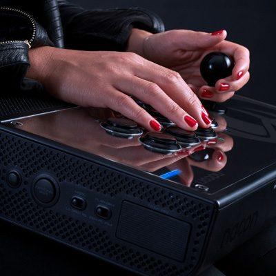 Test joystick Nacon Daija Arcade Stick | PS4, PS3, PC, Raspberry PI