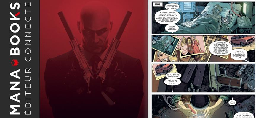 Avis sur la BD « Agent 47 Birth of the Hitman » – Edition Mana Books