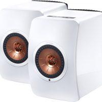 enceintes KEF LS50 Wireless blanc laqué