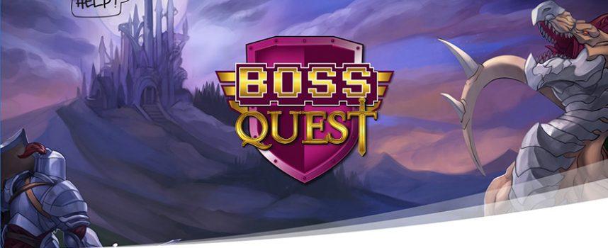 Boss Quest, un jeu de société pour nous, les gamers !
