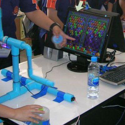 Contrôleur PVC pour Puzzle Bobble