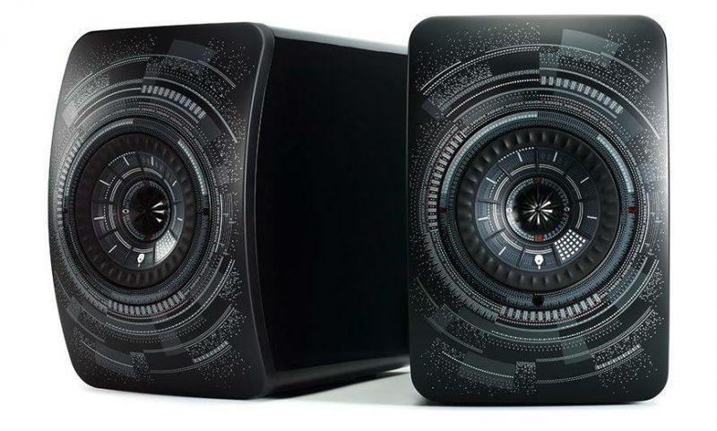 enceintes KEF LS50 Wireless - Marcel Wanders