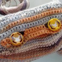 étui tricot laine manette Nintendo Switch