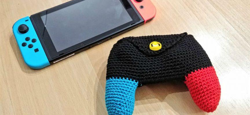 Étui en laine pour manette Nintendo Switch Pro Controller
