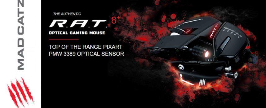 Test Mad Catz R.A.T. 8+ – Souris gamer | PC