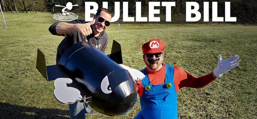 FliteTest fait voler la balle Bullet Bill de Super Mario