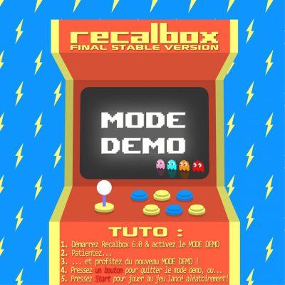 Recalbox 6.0 Mode Démo présentation