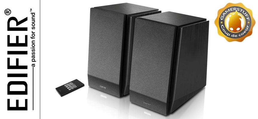 Test Edifier R1850DB – Enceintes bibliothèques Bluetooth