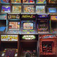 illustration Rachid Rotf - bornes Arcade