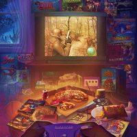 illustration Rachid Rotf - Gamecube - Resident Evil