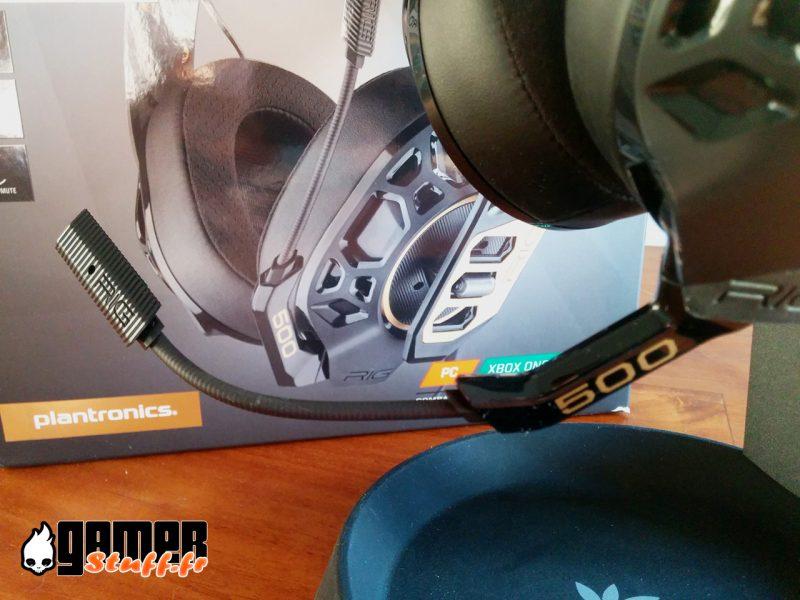 micro casque gaming Plantronics Rig 500 Pro