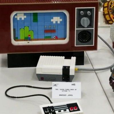 Un Nintendo Entertainment System complet et (presque) fonctionnel en LEGO
