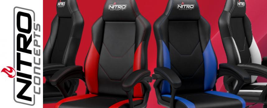 Test Nitro Concept C100 – Fauteuil Gamer