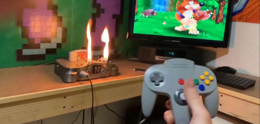 Un mod Heavy Metal pour la console Nintendo N64
