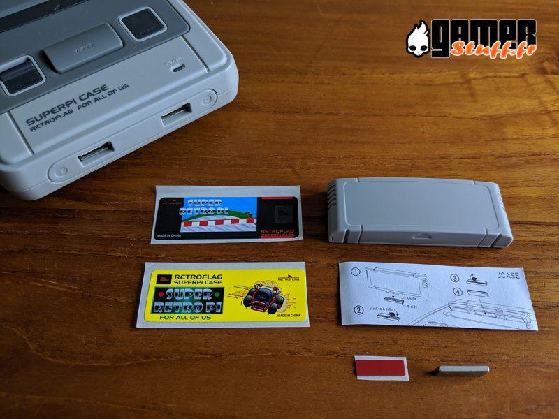 boitier Raspberry Pi - Retroflag SUPERPi case + cartouche