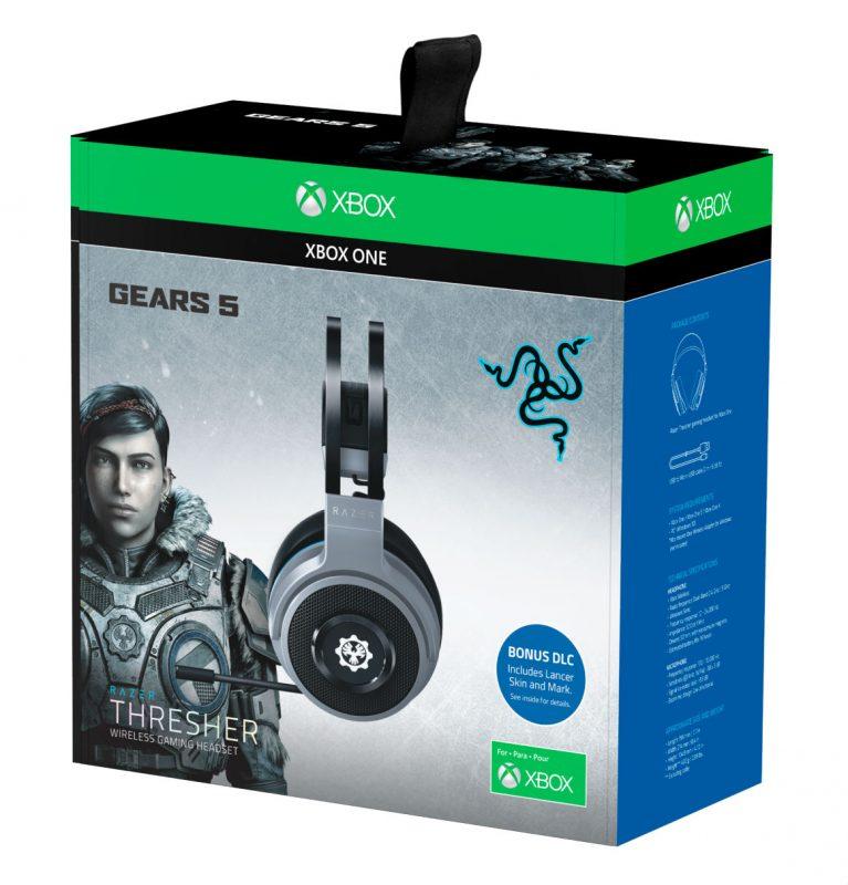 casque Razer Thresher Gears of War 5 Edition