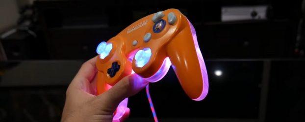 Mod LED pour manette Gamecube