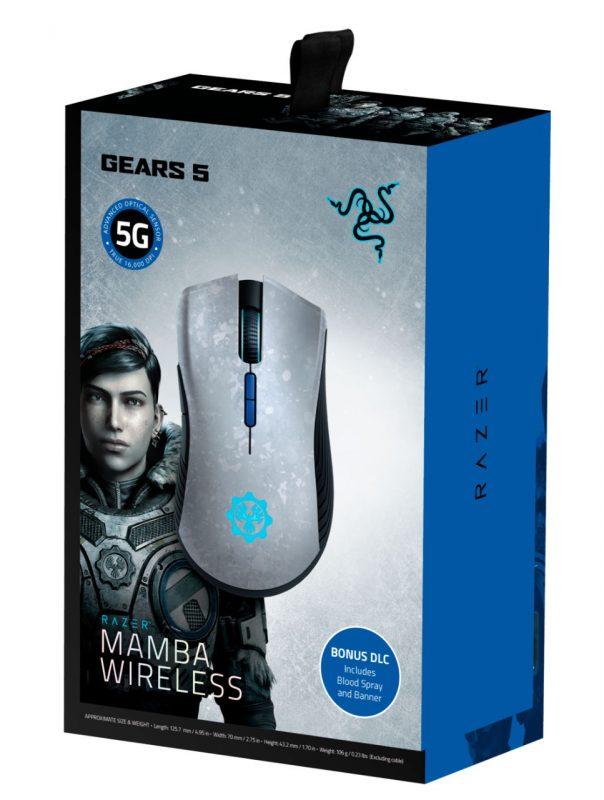 souris Razer Mamba Wireless Gears of War 5 Edition