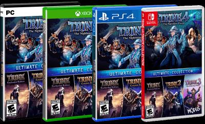 pochettes jeux Trine 4 Ultimate Collection