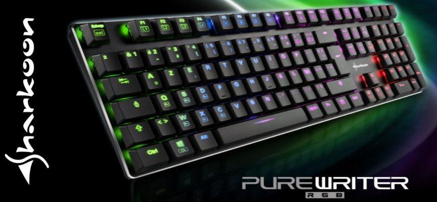 Test Sharkoon Purewriter RGB – clavier mécanique | PC