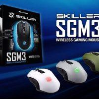 Test Sharkoon SKILLER SGM3 – Souris gamer sans fil | PC