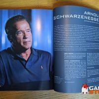 livre Mana Books - James Cameron, histoire de la science fiction - Arnold Schwarzenegger
