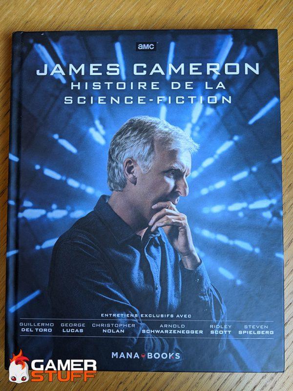 livre Mana Books - James Cameron, histoire de la science fiction - recto