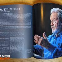 livre Mana Books - James Cameron, histoire de la science fiction - Ridley Scott