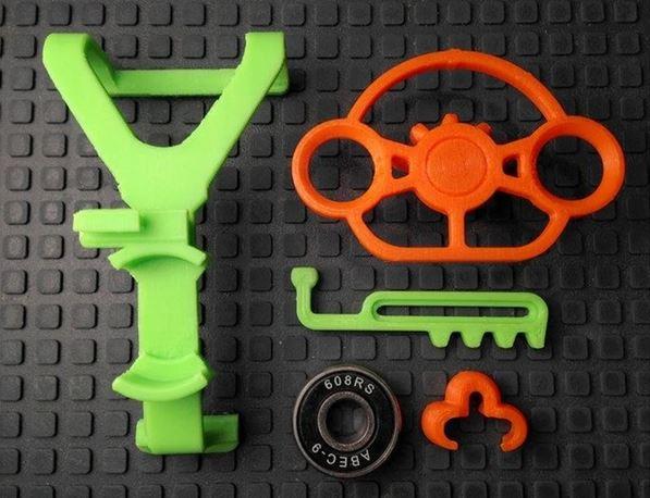mini volant manette Xbox One impression 3D