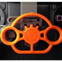 mini volant manette PS4 impression 3D