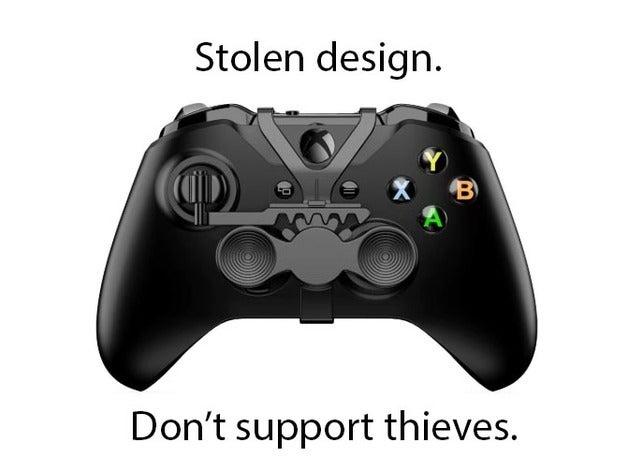 mini volant manette Xbox One