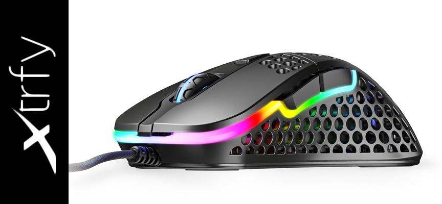 Test Xtrfy M4 RGB – Souris Gamer | PC